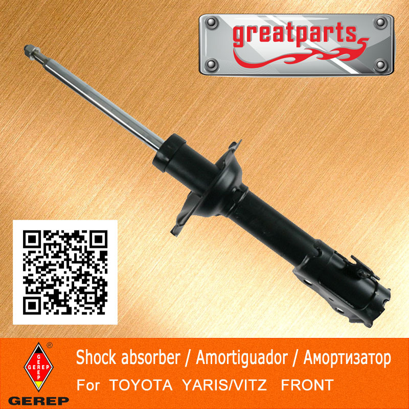 High quality front car shock absorber for TOYOTA YARIS/VITZ 4852052040 4852052140