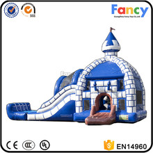 best quality inflatable bouncer with water slide,slide bouncer castle,water pool bouncer castles