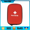 mini new products red waterproof eva first aid box case with cross logo