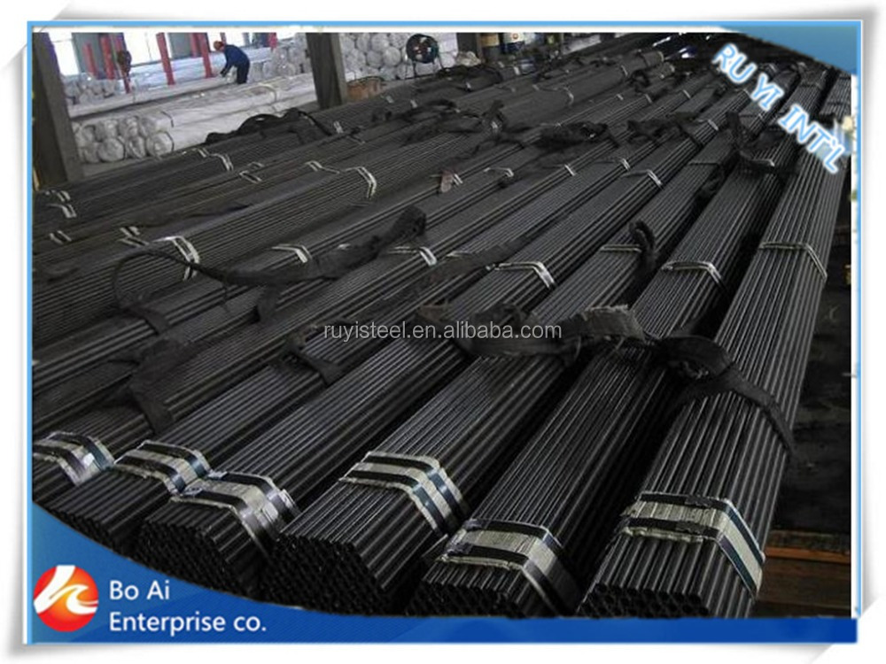 black steel pipe/tube manufacturer in tianjin
