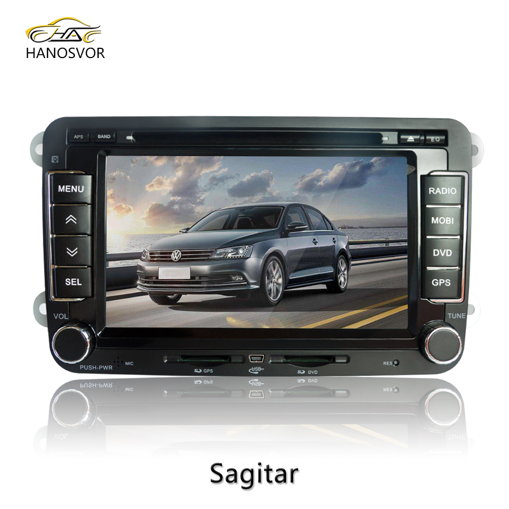 full touch double din volkswagen passat b6 radio navigation with bluetooth tv