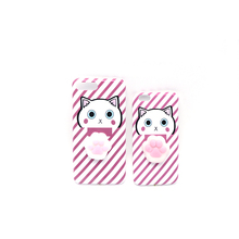 3D Cute Soft Silicone Squishy Cat Phone Cases for 6 6plus 7 7plus