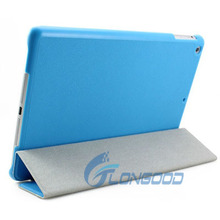 Useful soft protective colorful Flip leather Case Cover for ipad air