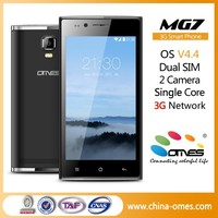MG7 4.5inch Single Core 2014 Chinese Cheap Telefonos Celulares Android Smartphone