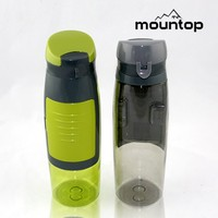 Tritan sipper water bottle plastic water bottles BPA FREE 750ml with cap and straw SGS certification
