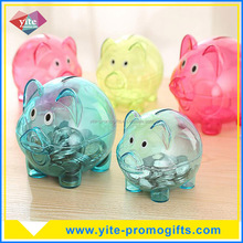 Bulk wholesale personalized kids plastic piggy coin banks for sale