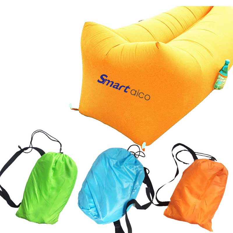 beach lay bag air bed Inflatable Hangout Hammock Air Lounge Sleeping Bags
