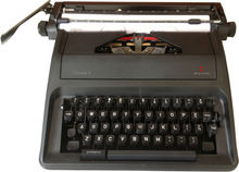 "2013 new model 11"" English typewriter"