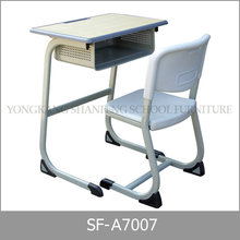 School Furniture Type Beauty Parlor Chair Adjustable Height Metal Desk Frame
