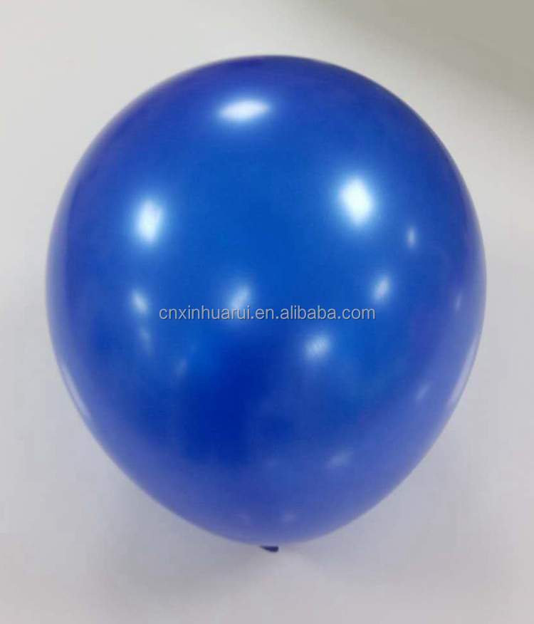 Factory outlet helium balloons with pearlized color no printing