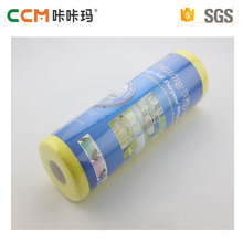 China manufacturer OEM Polyester needle punched nonwoven fabric cleaning cloth rolls