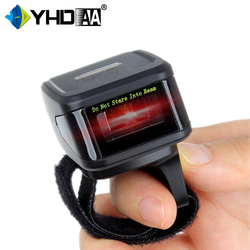 China Small Mini Finger Wearable 2D Ring Bluetooth Barcode Scanner QR Code Reader
