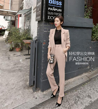 2016 Wholesale Korean Style Women Elegant Work Suits Formal Business Suits For Ladies OH719