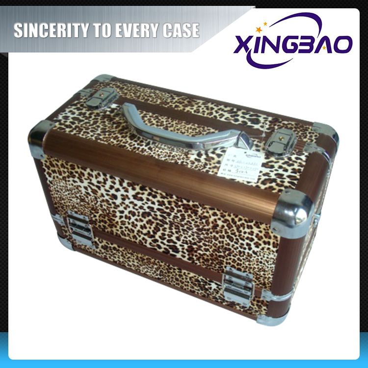 Aluminum ex-factory price antique cosmetic case