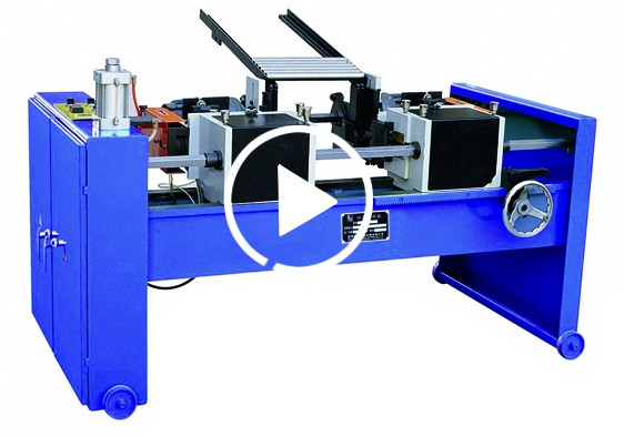 EF-FA/52 Oversea third-party support rod theaded chamfering machine function