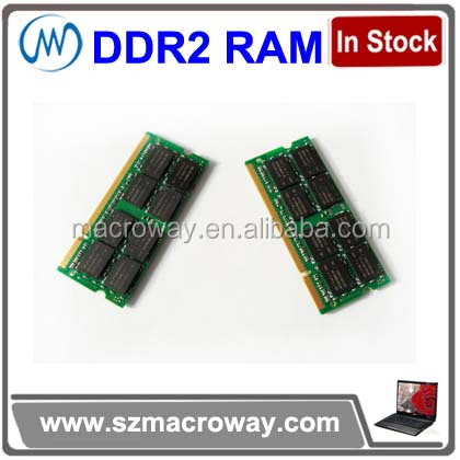 top seller in the USA market 256mb*8 ddr2 4gb so-dimm accept paypal