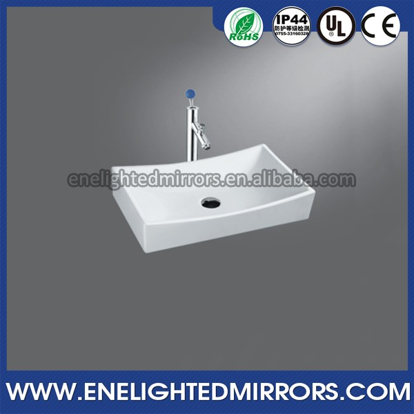 Fashion design Rectangle Round Shape octagonal fancy bathroom sink