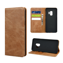Newest case for Samsung S9 leather wallet card holder phone cover