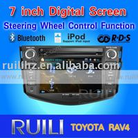 "8"" touch screen car audio TOYOTA RAV4 3D animation UI"