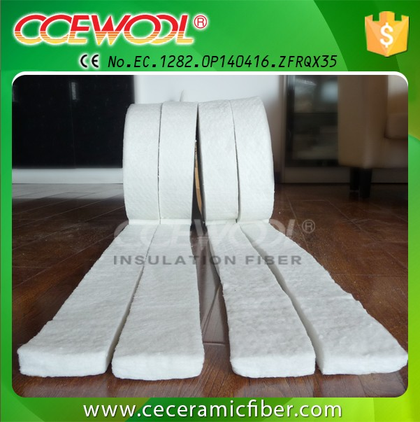 Industrial coke oven door Liner ceramic blanket gasket