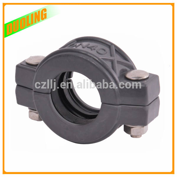 "Cheap price 1"" DN25 33.4mm plastic clamp for pipe fitting with highest Standard On Sale"