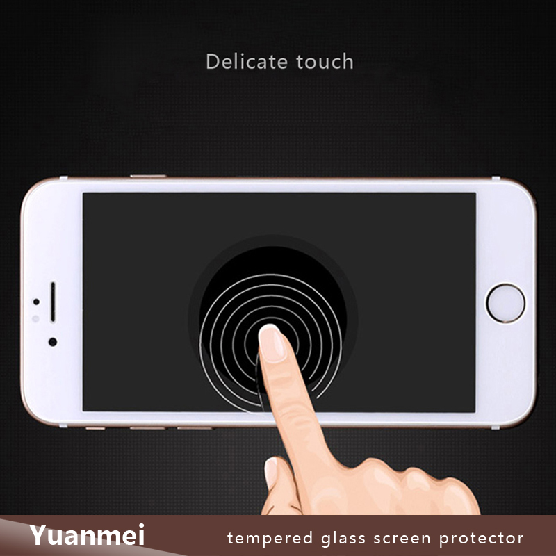 3D Full Cover Tempered Glass Screen Protector for iPhone 6 Plus