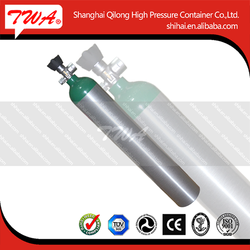 Best quality DOT, EN, GB, ISO pressure gas aluminum,steel industrial grade hydrogen gas