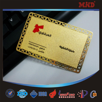 Mdm6 Custom Stainless Steel Cheap Metal Business Card