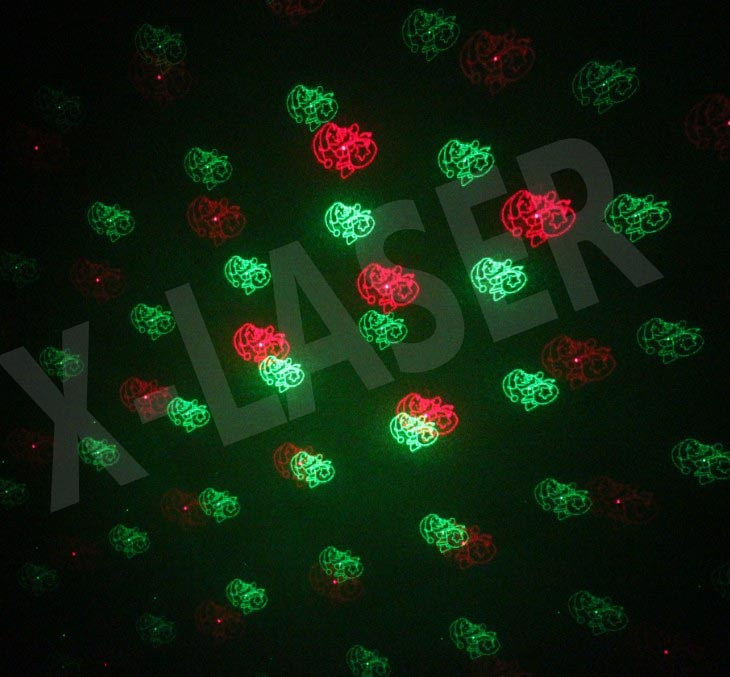 Alibaba Outdoor laser light Christmas Decorative tree light with CE ROHS