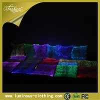 led lighting decorative luminous floor cushion cover