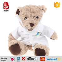 Custom Plush Stuffed Doctor Teddy Bears Soft For Today's Kids Toys