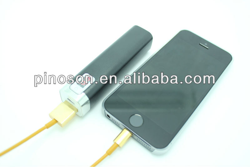 2014 new products 2600mah cell phone external battery,portable charger,powerbank for mobile phones