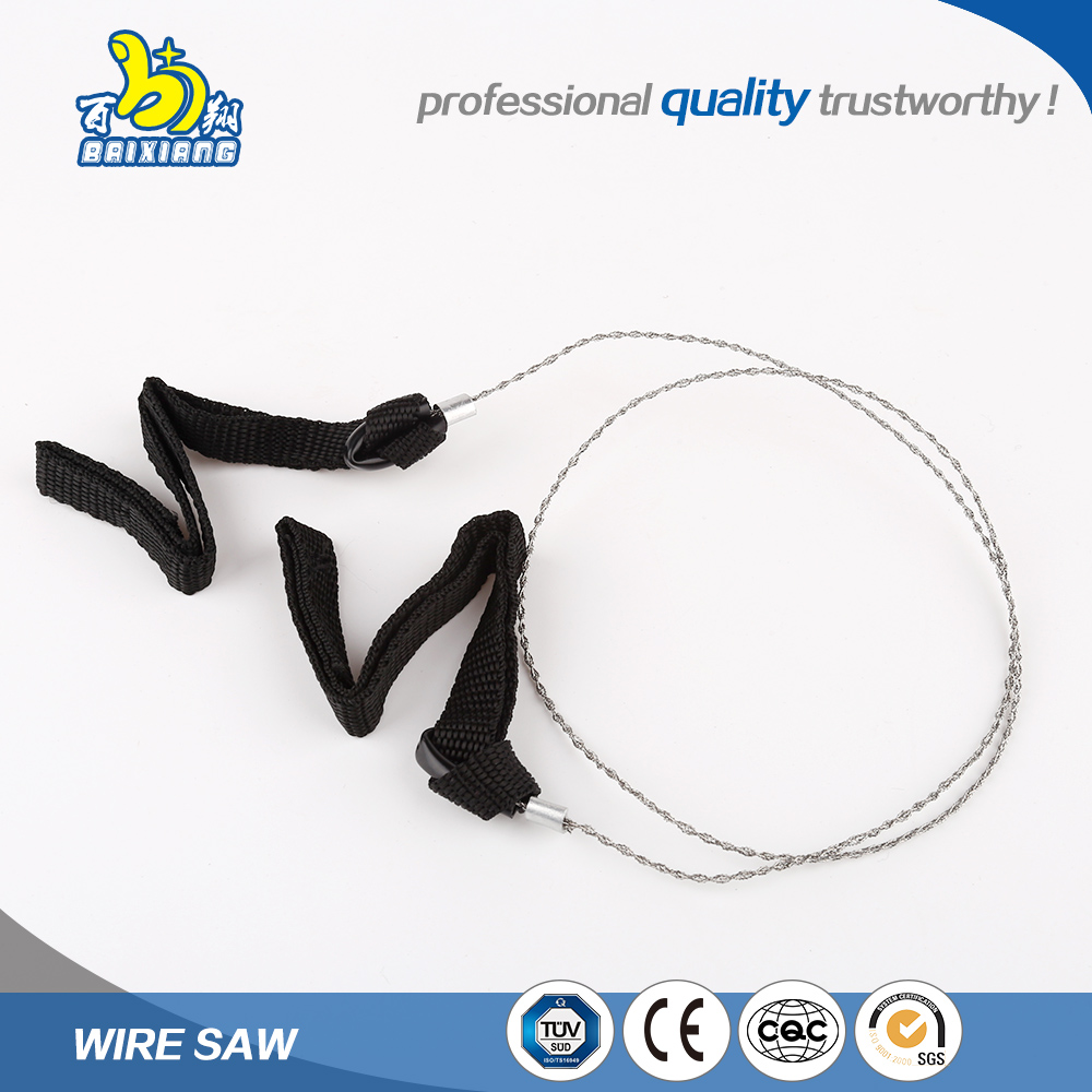 Direct factory superior customer care good price wood abrasive used wire saw with rope belt