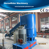 PE PP film densifier type pelletizing extruding machine