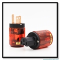 OEM Pure Copper US Power Terminals Power Cable for tube Amplifier