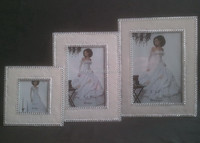 3 x 3'' 4 x 6'' 5 x 8'' Picture Frames & Photo enamel coated clear glass picture photo frame
