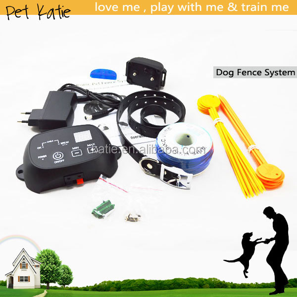 Hot Sell Pet Supplies Outdoor Portable Wires Trainer Dog Fence