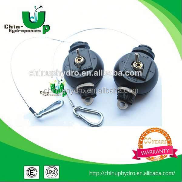 hydroponics system rope ratchet/easy roller/heavy duty hanger/home and garden decorations led jar light