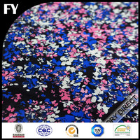 Custom design high quality digital printed plain weave polyester cotton fabric