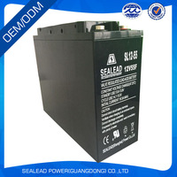 factory price 12v 55AH lead Acid battery for fog light