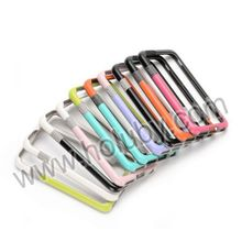 Colorful Walnutt Durable Three Color for iPhone6 TPU+PC Hybrid Bumper Frame Case for iPhone 6 4.7 inch