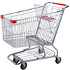 RH-SMD180 American style shopping trolley 180L 1130*580*1150mm supermarket cart trolley