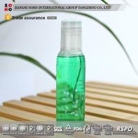 Disposable plastic refillable shampoo bottle