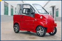 EEC approved 2-seats enclosed electric mini car