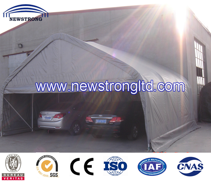 Peak Roof Garage portable Car Parking Shelter Tent