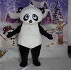 Popular fancy dress black and white panda suit costume easy wear adult panda suit costume