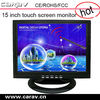 "15""touch LCD screen with USB/COM port touch screen kiosk monitor"