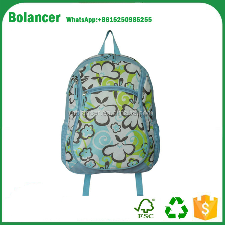 China suppies multicolor series school backpack / waterproof kids school bags / latest design colourful kids