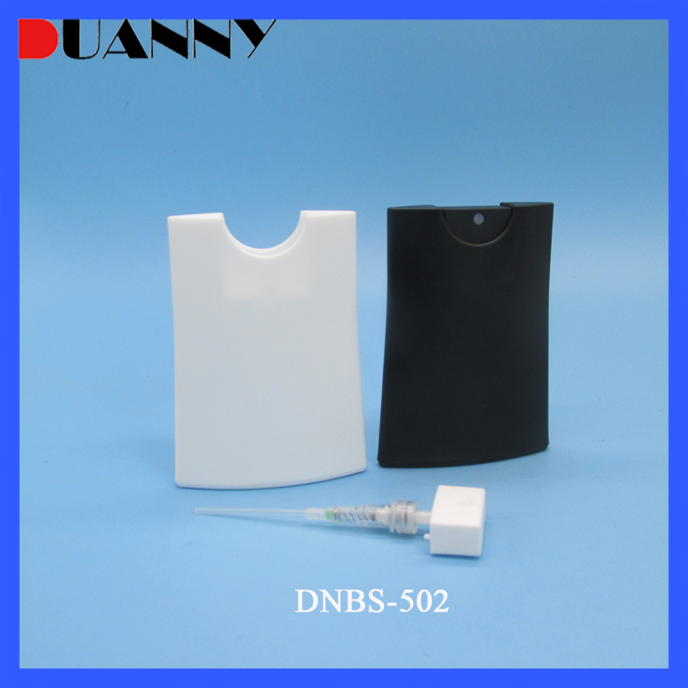 20ml Plastic Wasit Credit Card Spray Bottle Packaging For Perfume Packaging