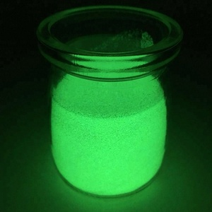 Strontium Aluminate Yellow-green Photoluminescent Pigment Glow Powder for Ink and Paint